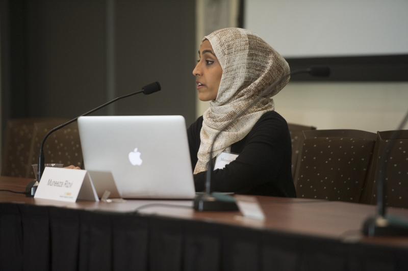 Muneeza Rizvi, graduate student in the UC Davis Department of Anthropology