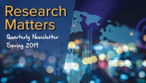 Research Matters - Spring 2019