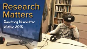 Research Matters - Winter 2018