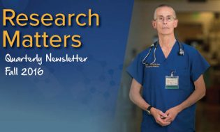 Research Matters Quarterly Newsletter Fall 2016
