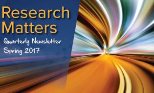 Research Matters Quarterly Newsletter Spring 2017