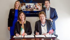 University College Dublin and University of California, Davis Strengthen Strategic Partnership
