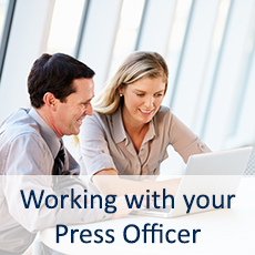 Working with your Press Officer