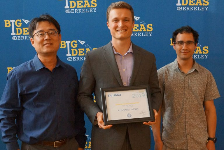 (Left to right) Professor and Chief Executive Officer Jae Wan Park, Chief Operating Officer Ryan Barr, and Chief Technology Officer Joe Lacap