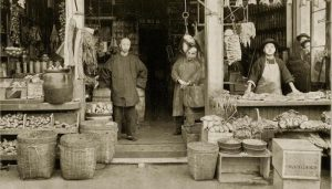 San Francisco's Chinatown in 1894. A History Project workshop to study Chinese history in California is one of the projects that received an NEH grant. (Getty Images)