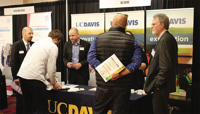 UC Davis was one of over 50 exhibitors at the Summit.